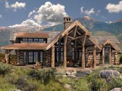 Проекты домов из бруса и коттеджей из бревна