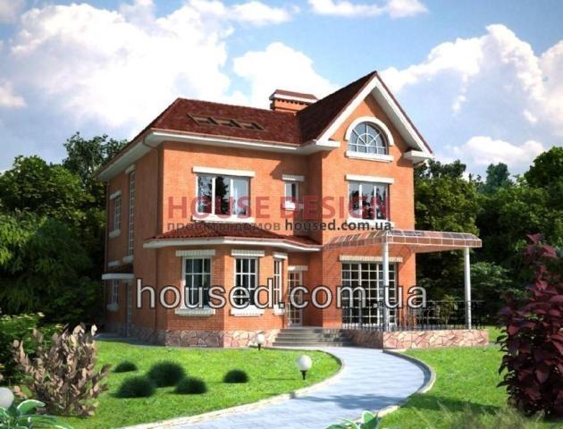 Дома с кирпичными стенами