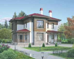 Проект дома № 17310